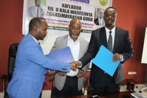 Ministry Of Energy Bids Farewell To Outgoing Director General- Eng. Abdurrahman Abdeeq Muhumed