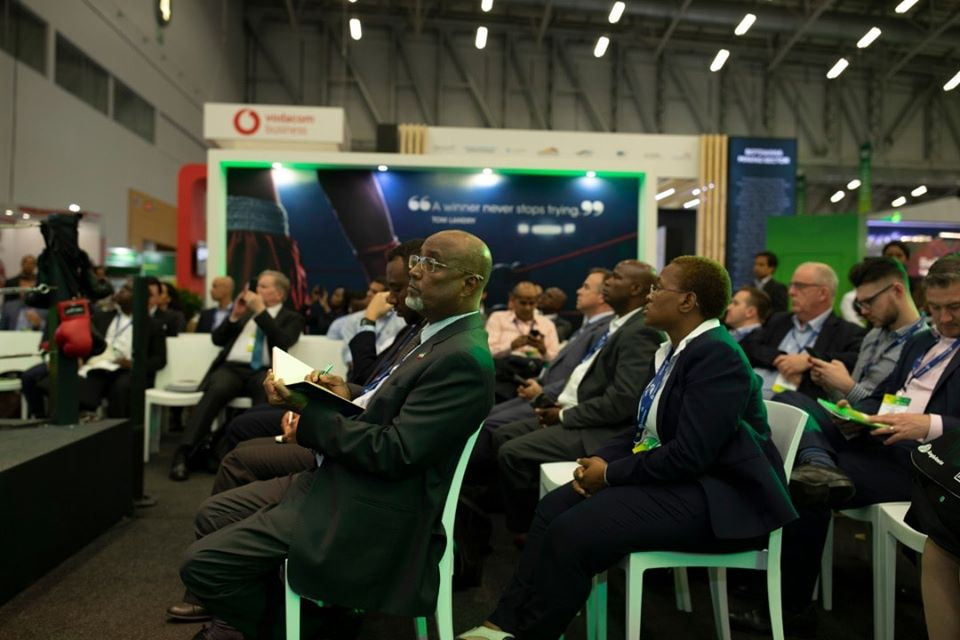 Somaliland Energy Minister attends the 2020 Indaba Mining Conference
