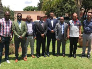 Wasiirka Tamarta & Macdanta Somaliland Oo Kulamo La Yeeshay Xubno Ka Tirsan Madaxa Koonfur Afrika