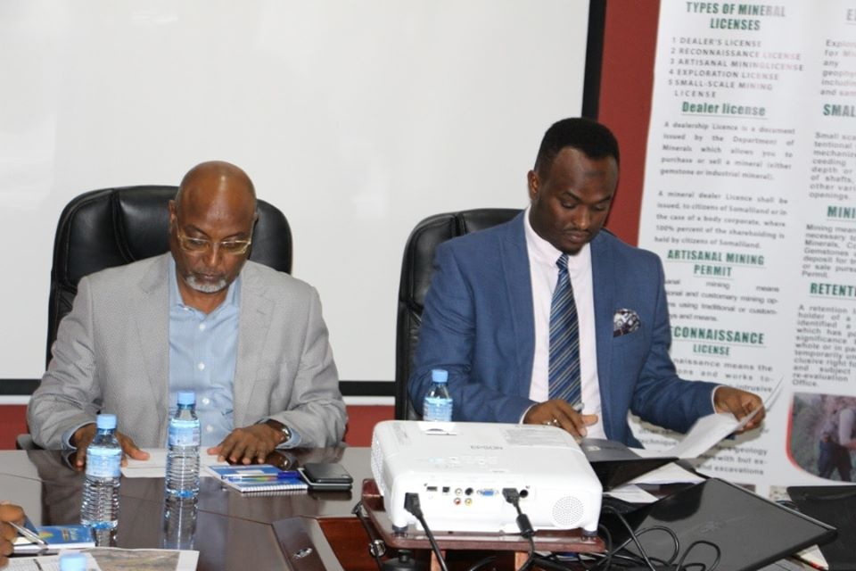 Somaliland Ministry of Energy and Minerals holds One day Minerals Coordination Meeting